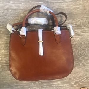 NWT Fossil brown Ryder purse
